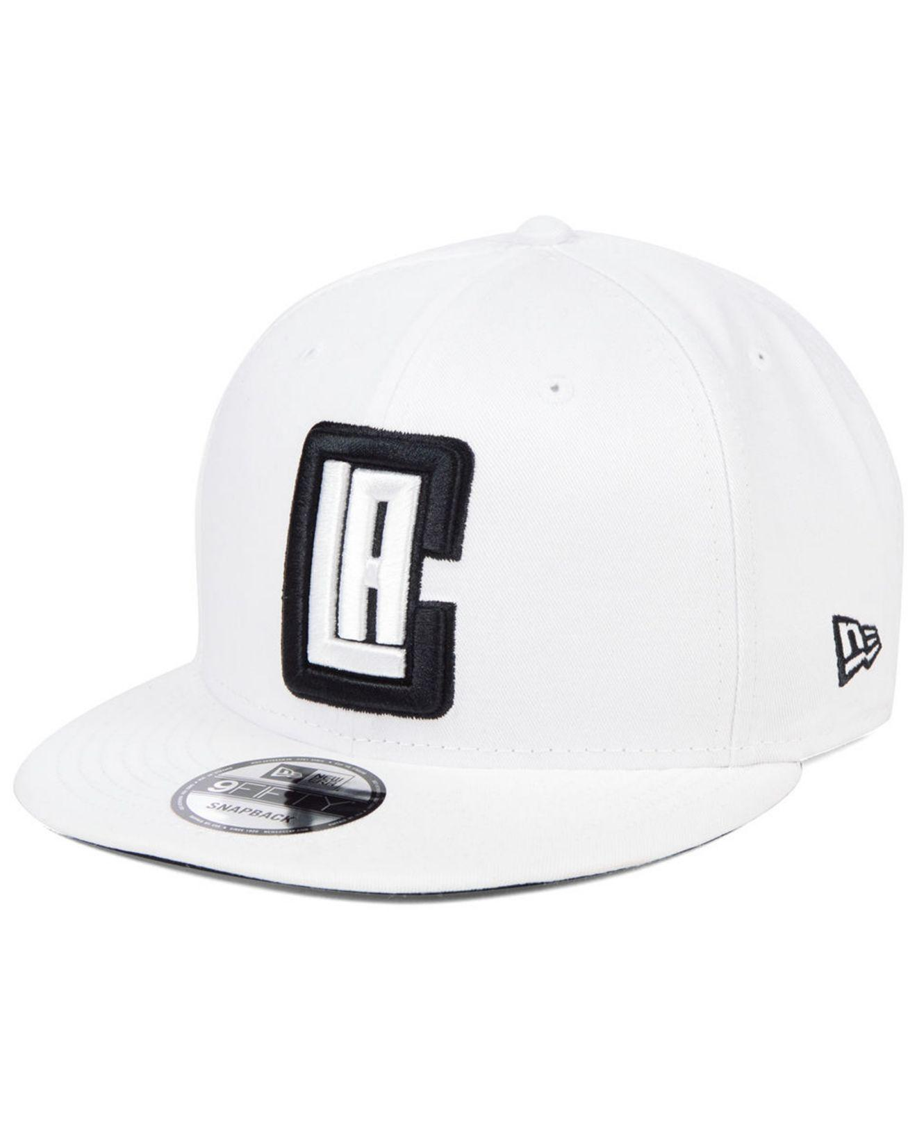 new arrival 32c73 9aefd KTZ. Men s White Los Angeles Clippers Night Sky 9fifty Snapback Cap