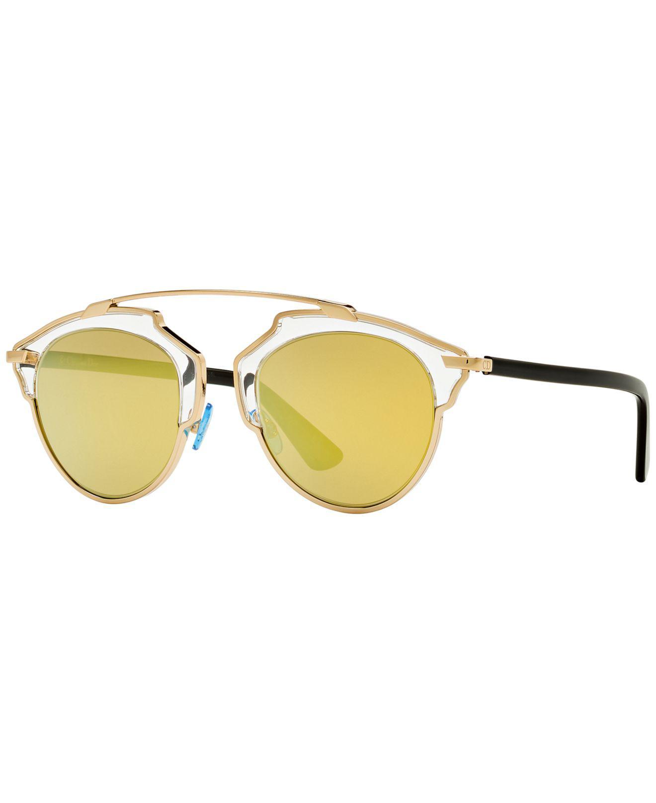 265681073995 Dior. Women s Metallic Sunglasses