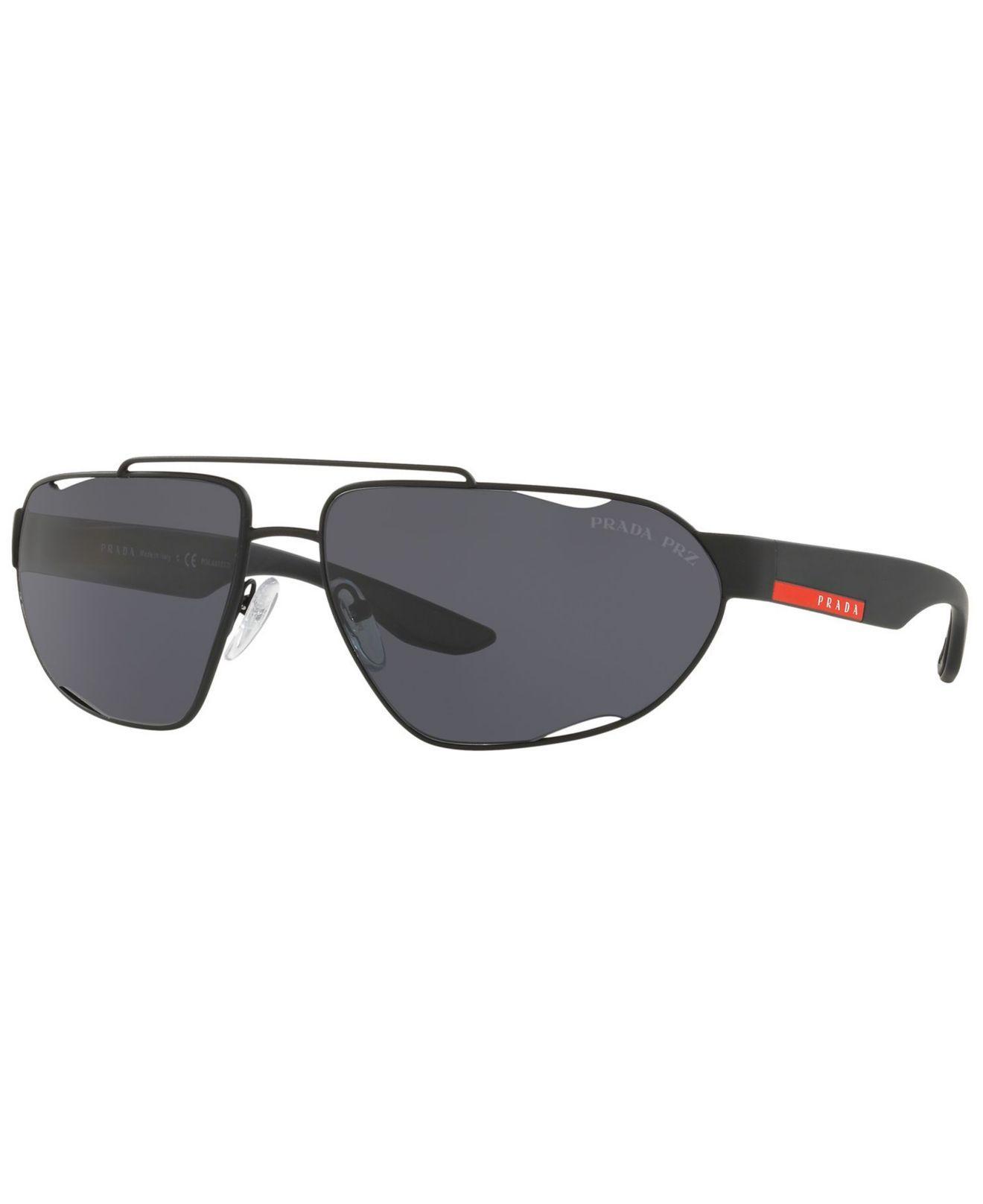 5e047e788d4 Lyst - Prada Polarized Sunglasses