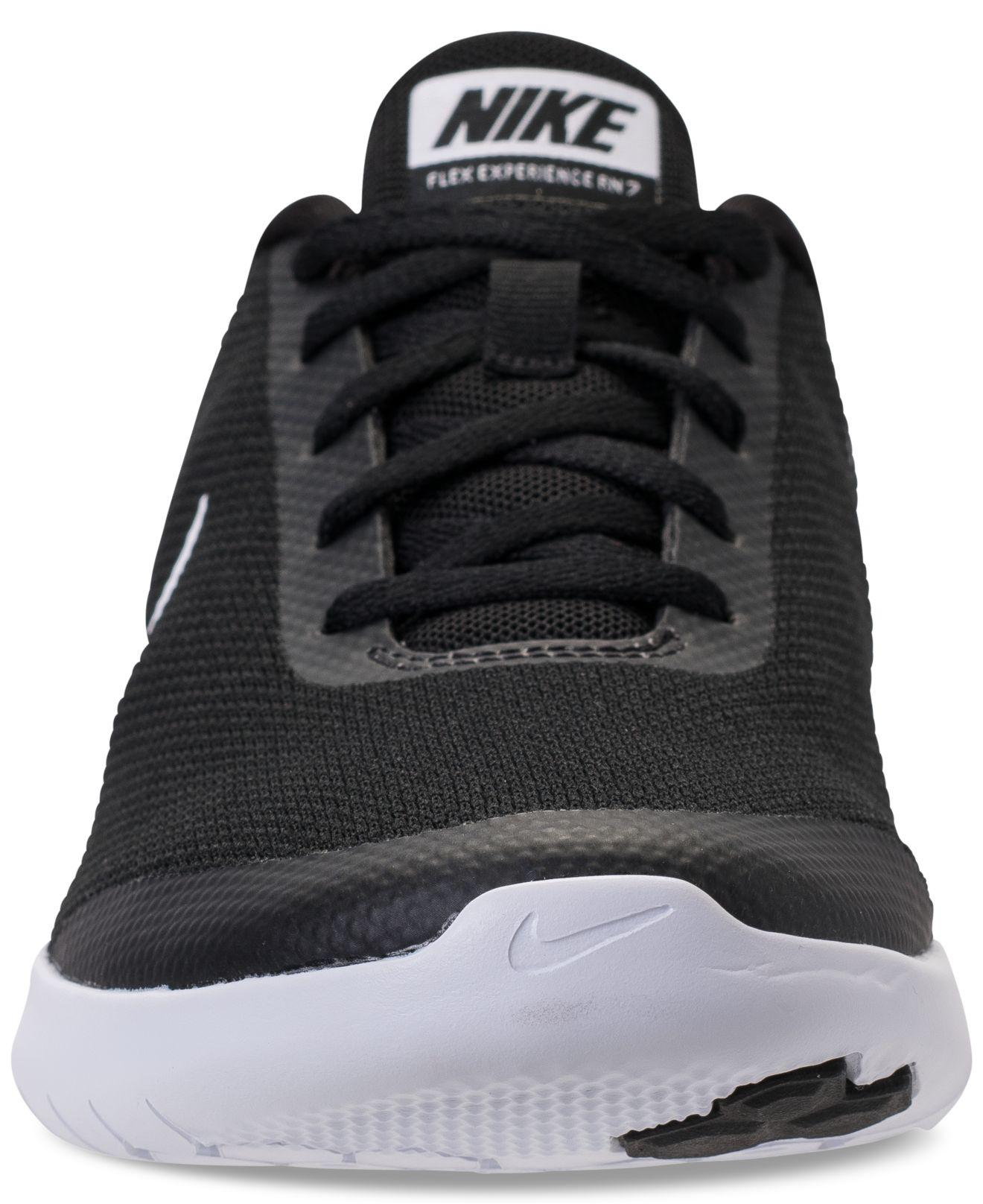 sports shoes c1030 c4f63 Nike - Black Flex Experience Run 7 Running Sneakers From Finish Line -  Lyst. View fullscreen