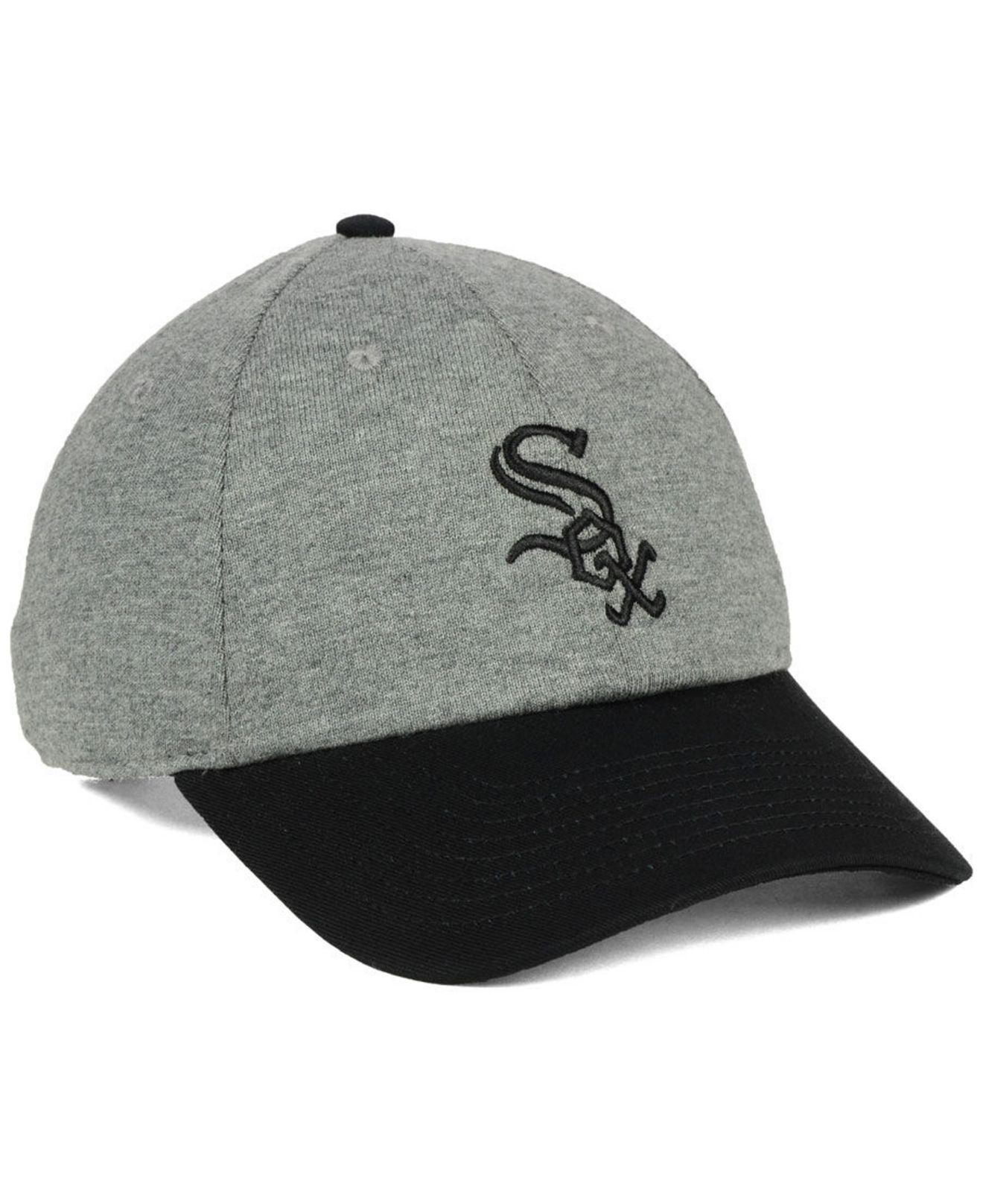 promo code a8d26 cc7ee ... australia nike gray chicago white sox 2 tone heather cap for men lyst.  view fullscreen