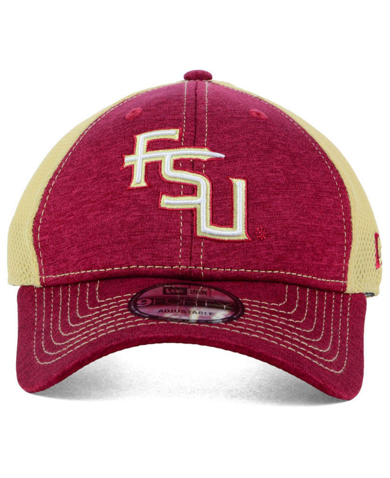 new concept 881bb 0d58b Lyst - KTZ Florida State Seminoles Shadow Turn 9forty Cap for Men