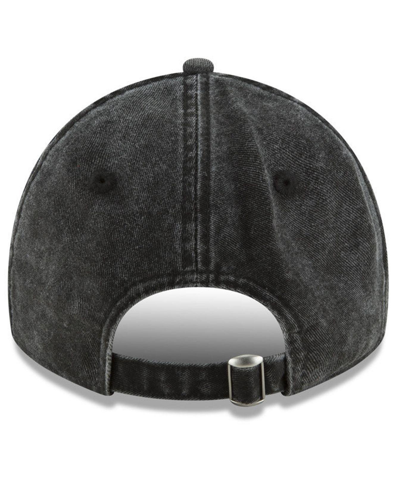 best service 12b64 82d89 ... adjustable hat f3d4e 90075  shopping lyst ktz italian wash 9twenty cap  in black for men fe3a8 70eea