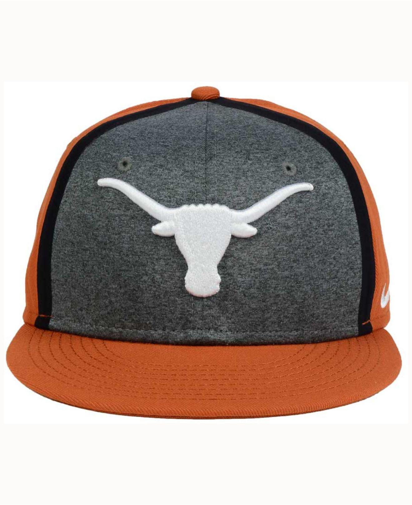 b89c6fded16e7 ... spain lyst nike texas longhorns sideline true adjustable cap for men  c0132 4288c