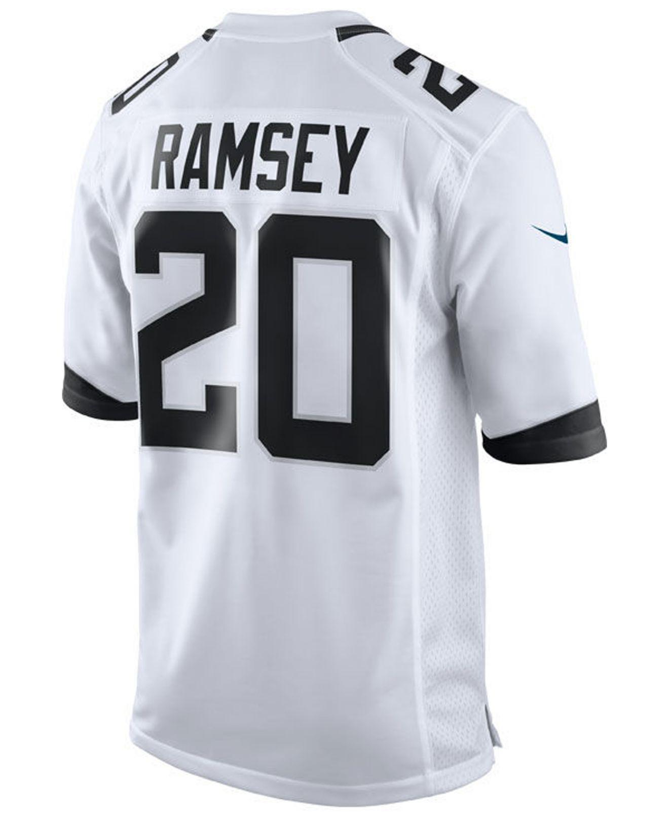 cad8910834a Lyst - Nike Jalen Ramsey Jacksonville Jaguars Game Jersey in White for Men