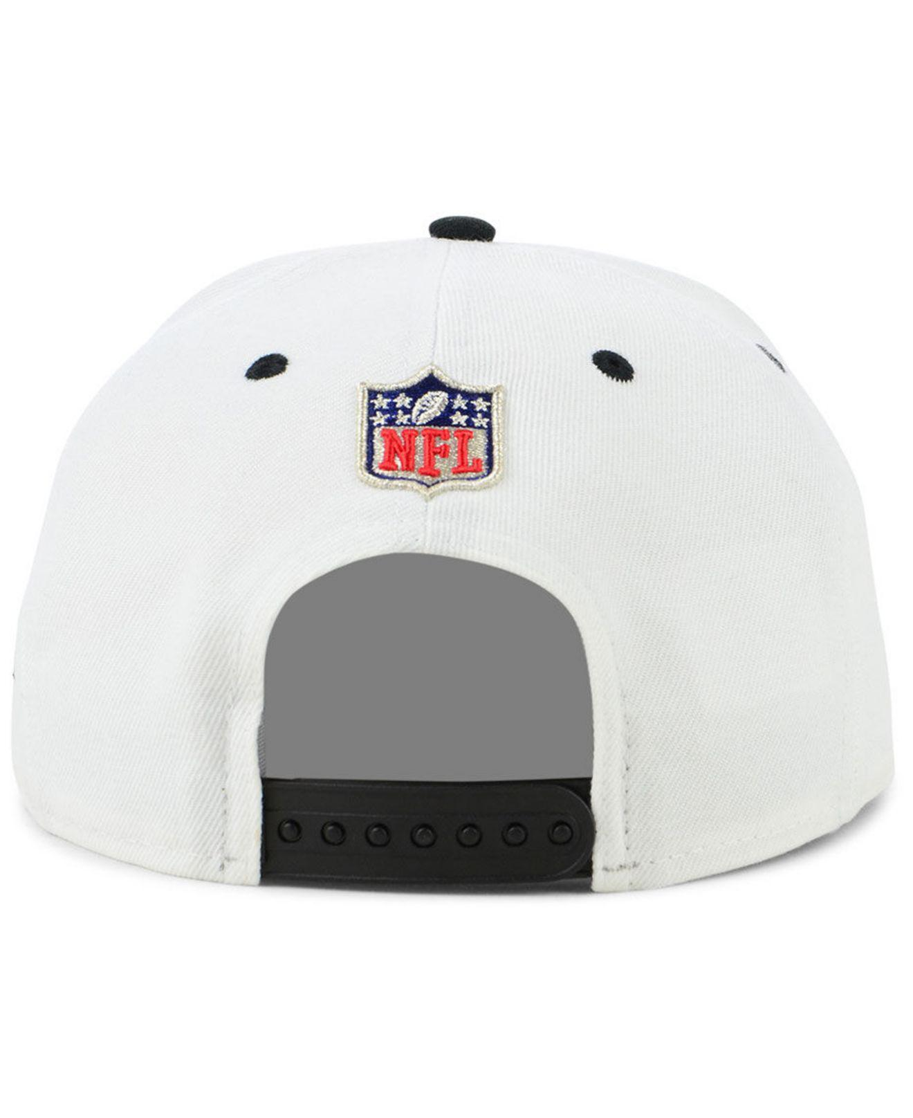 6ec19f411 Lyst - KTZ Oakland Raiders Thanksgiving 9fifty Cap in White for Men