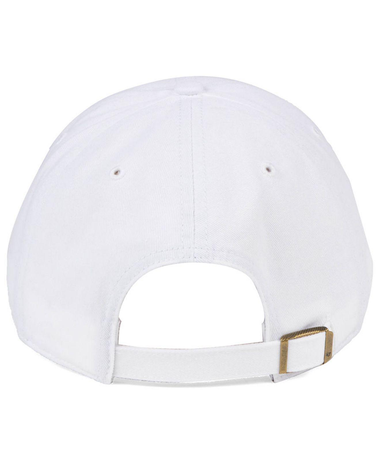 quality design 6206c 382bb ... where can i buy lyst 47 brand houston astros white white clean up cap  in white