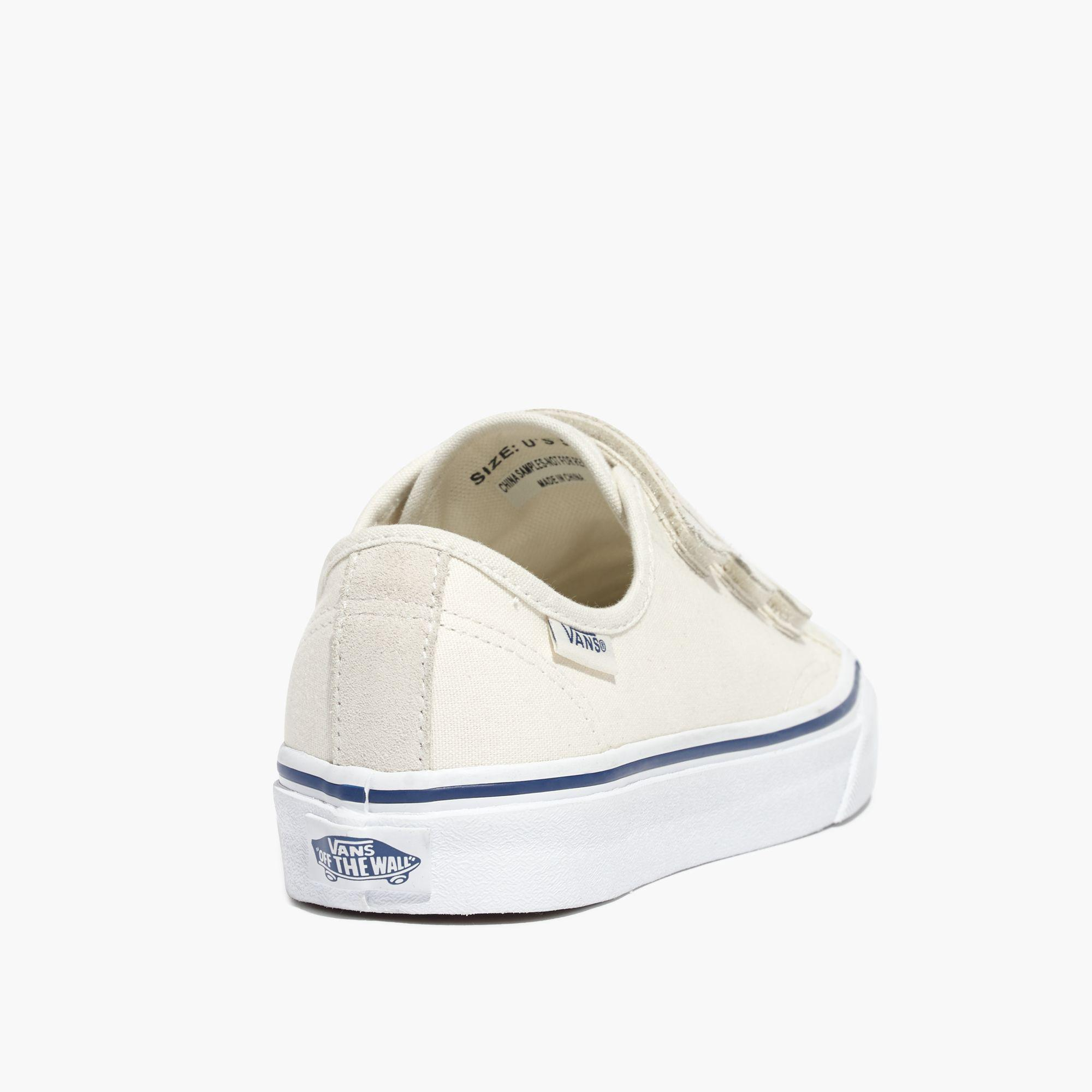 bde2b95c6a5c4 Lyst - Madewell Vans® Unisex Canvas 23v Velcro® Sneakers in White ...