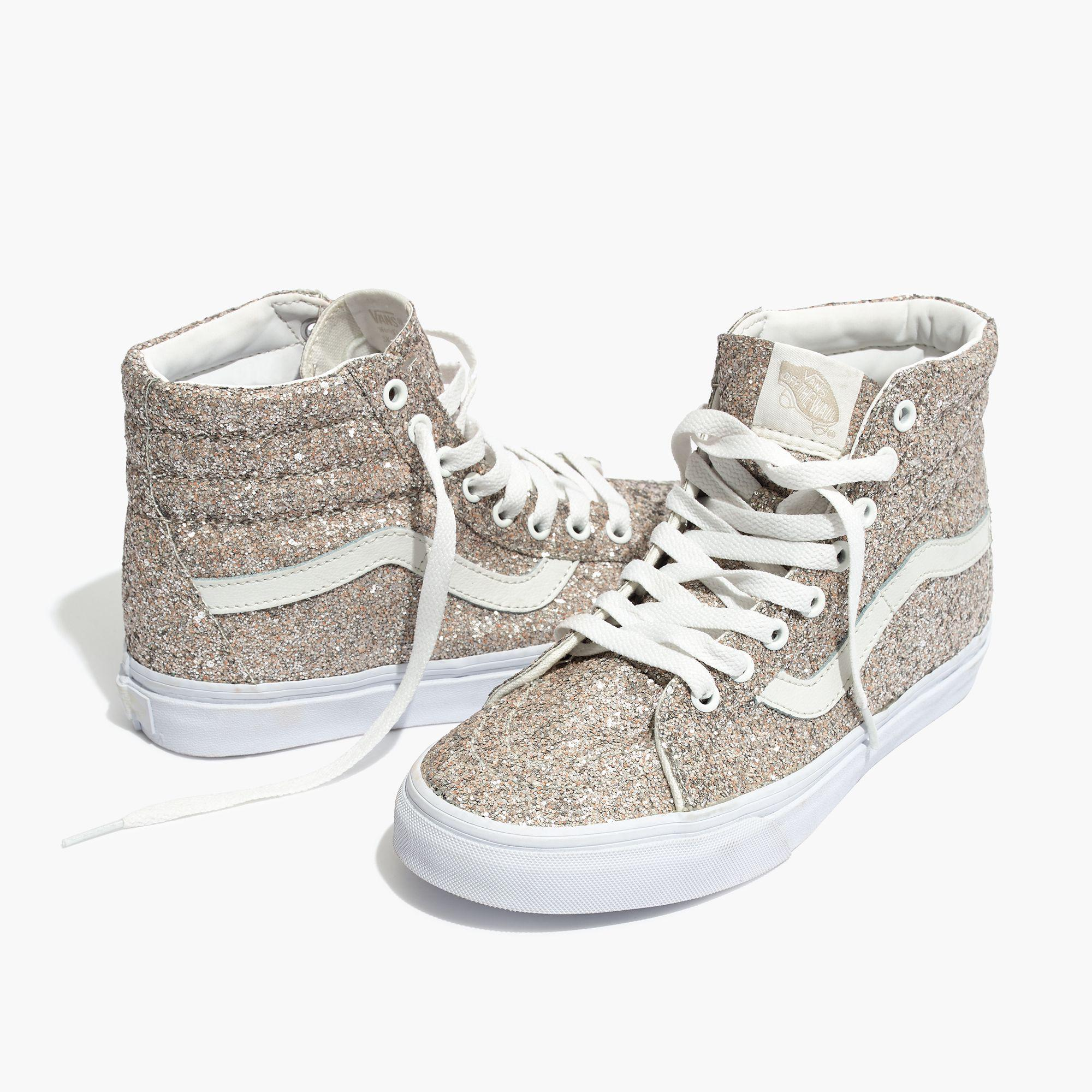 a3a5223989 Lyst - Madewell Vans® Unisex Sk8-hi High-top Sneakers In Glitter