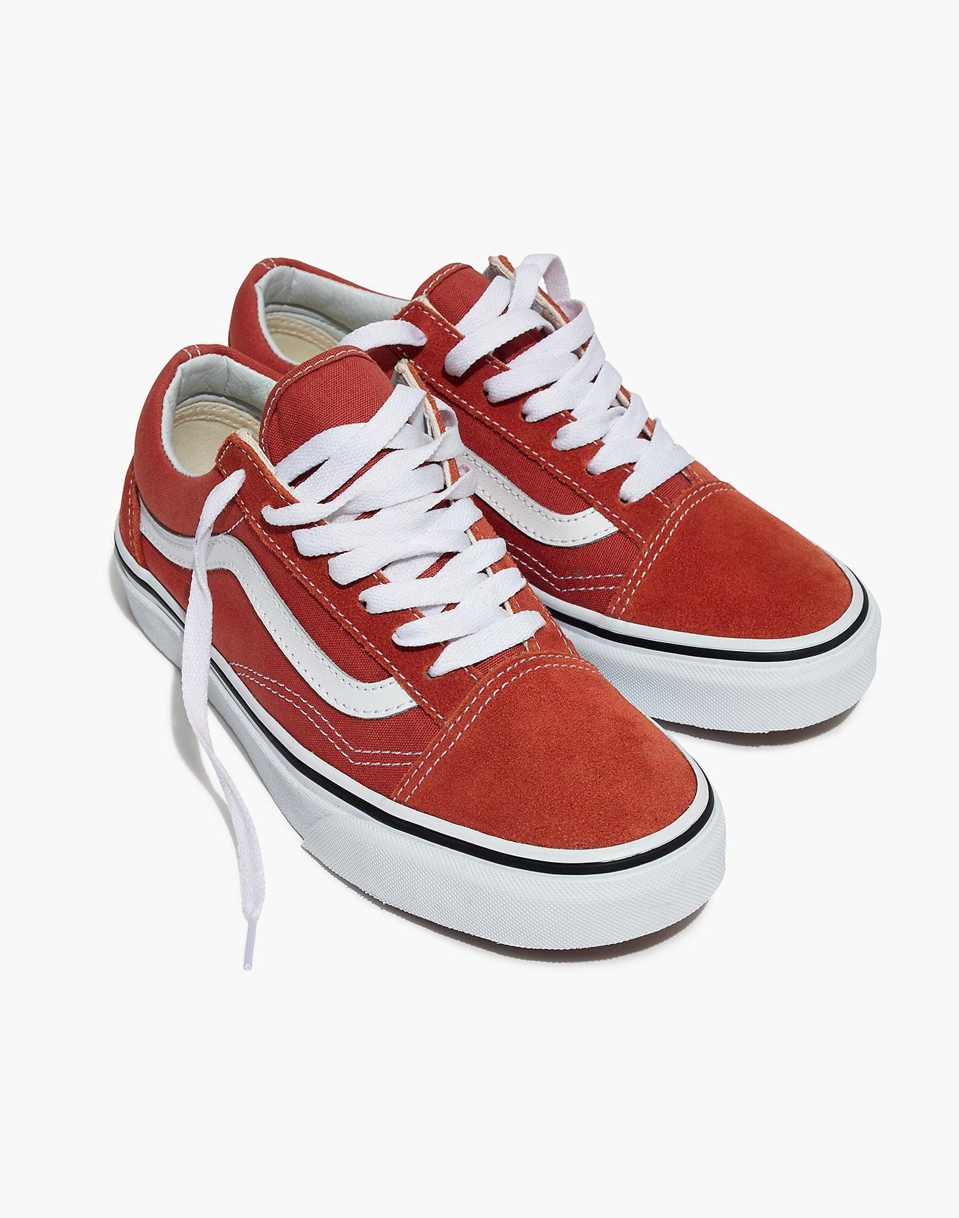 d5ae16ba41 Lyst - Madewell Vans Unisex Old Skool Lace-up Sneakers in Red