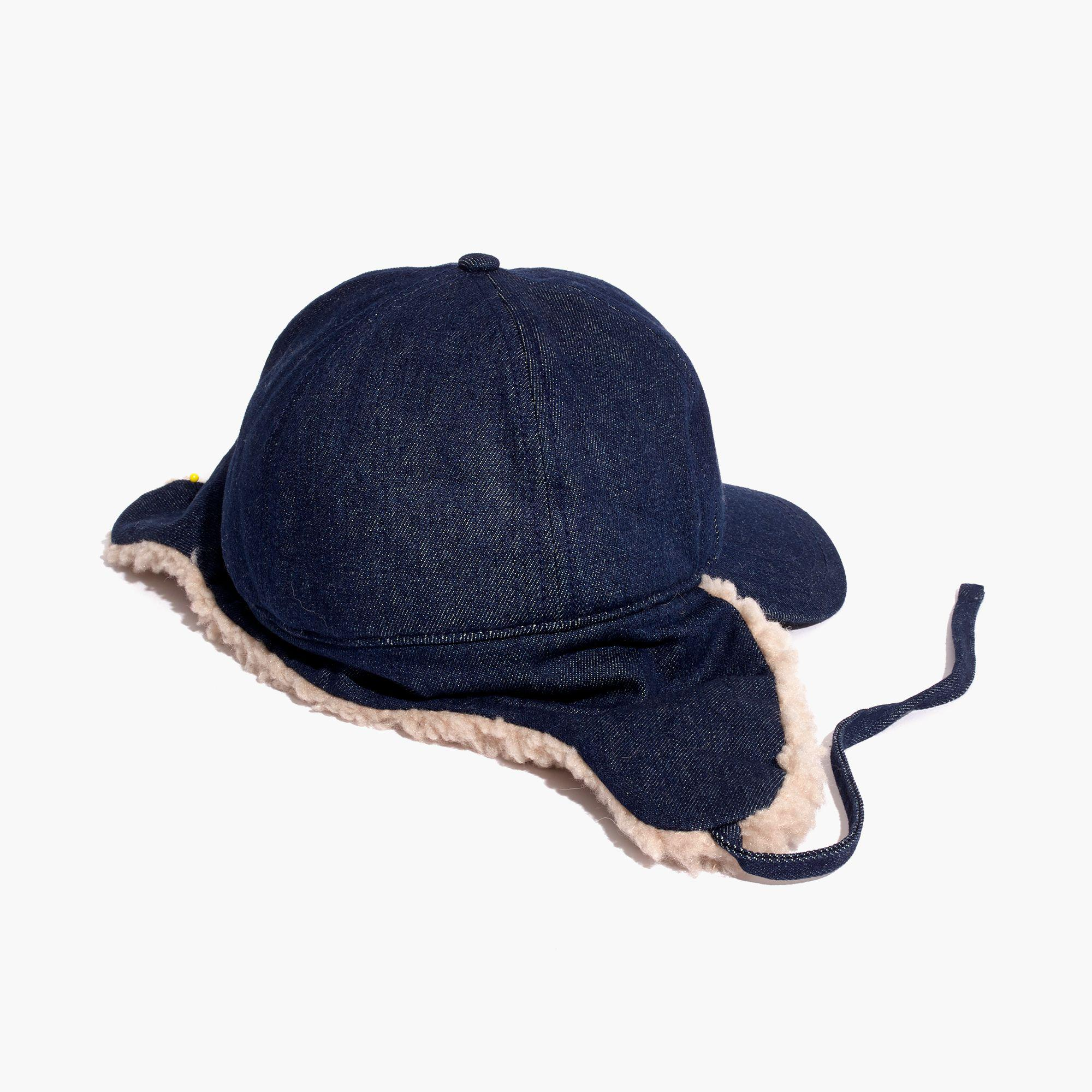 a9094d58446fc Madewell Baseball Trapper Cap in Blue for Men - Lyst