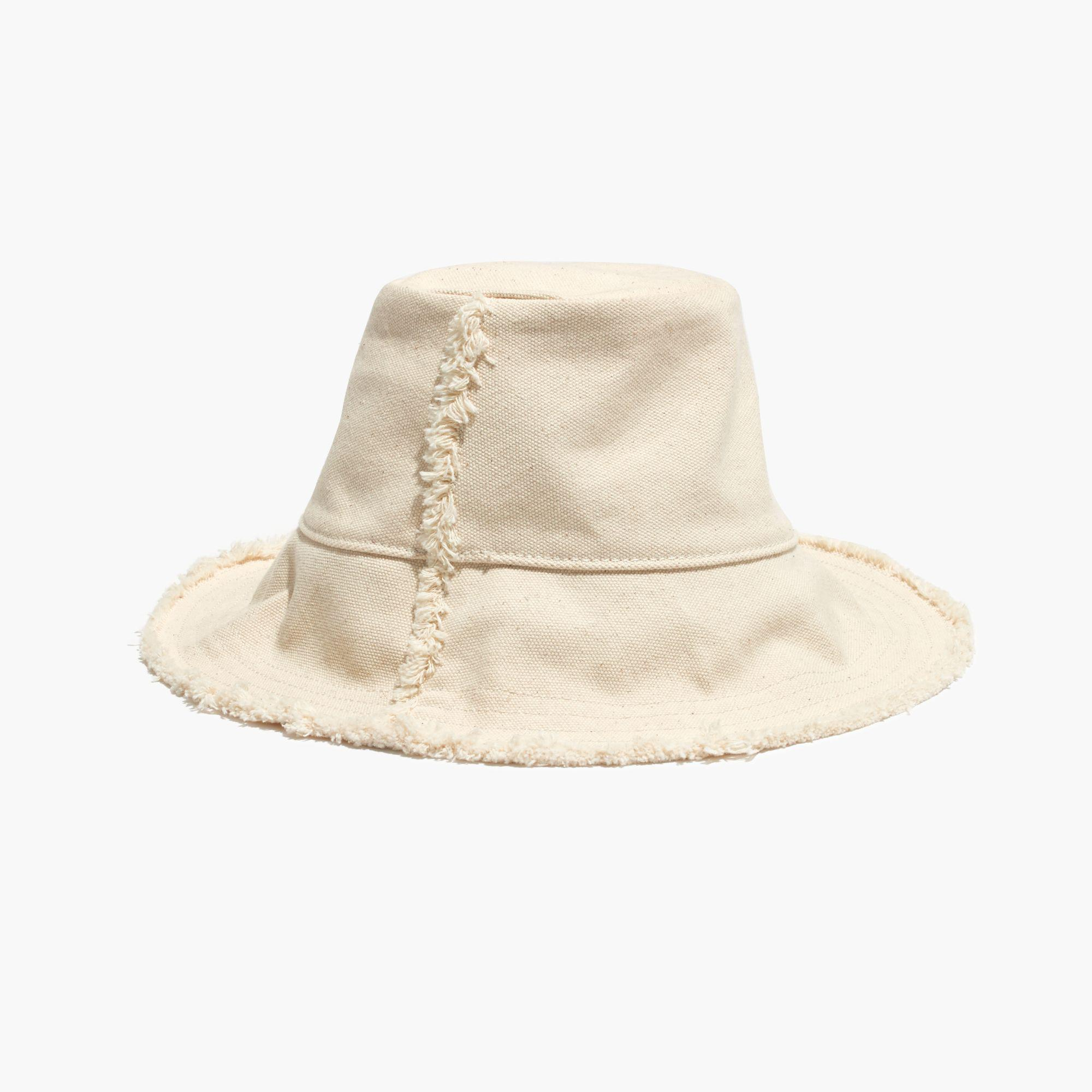 7df8fa938c611 Madewell Canvas Bucket Hat in Natural - Lyst