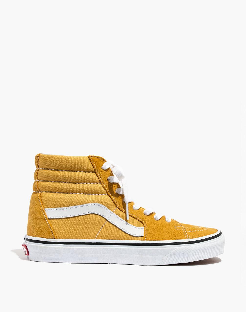 c86e966d2ff4c5 Lyst - Madewell Vans Unisex Sk8-hi High-top Sneakers In Ochre Suede
