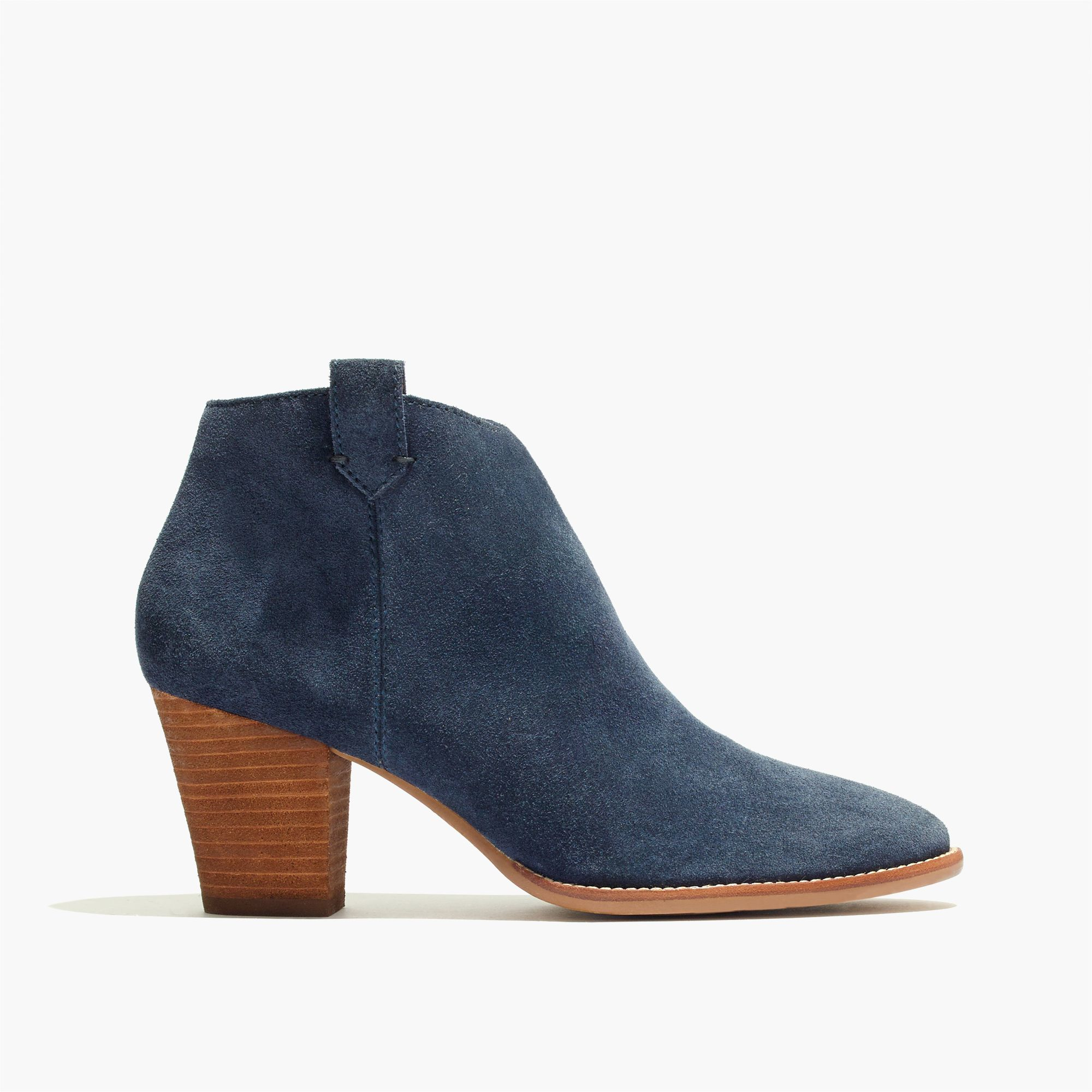 madewell the billie boot in suede lyst