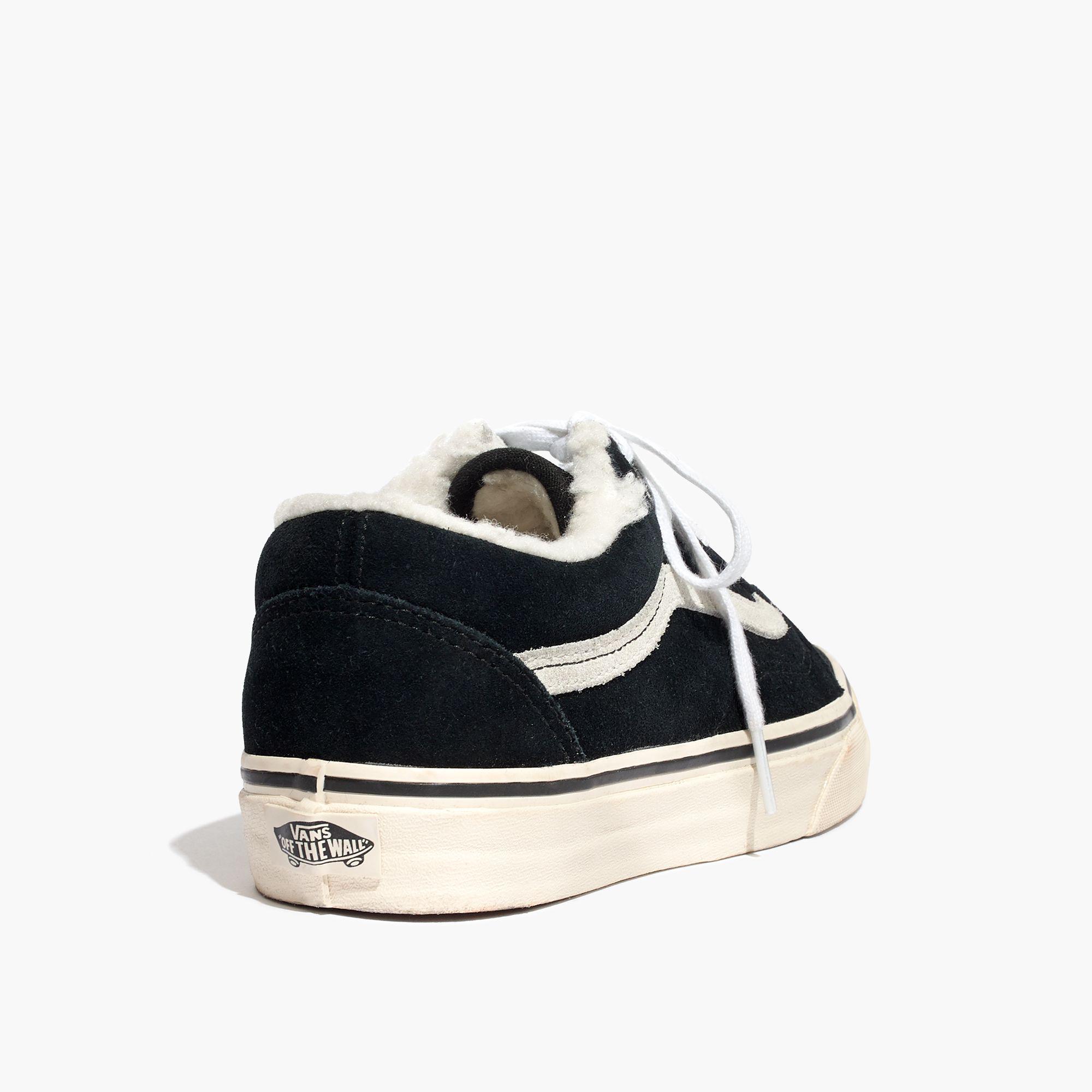 8043b3dd16b Lyst - Madewell X Vans® Unisex Old Skool Sneakers In Suede And ...
