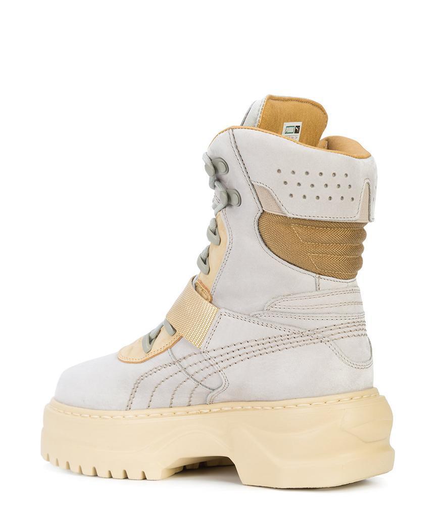 8d72f87a75c Lyst - PUMA Dove Winter Boot Nubuck Wn s