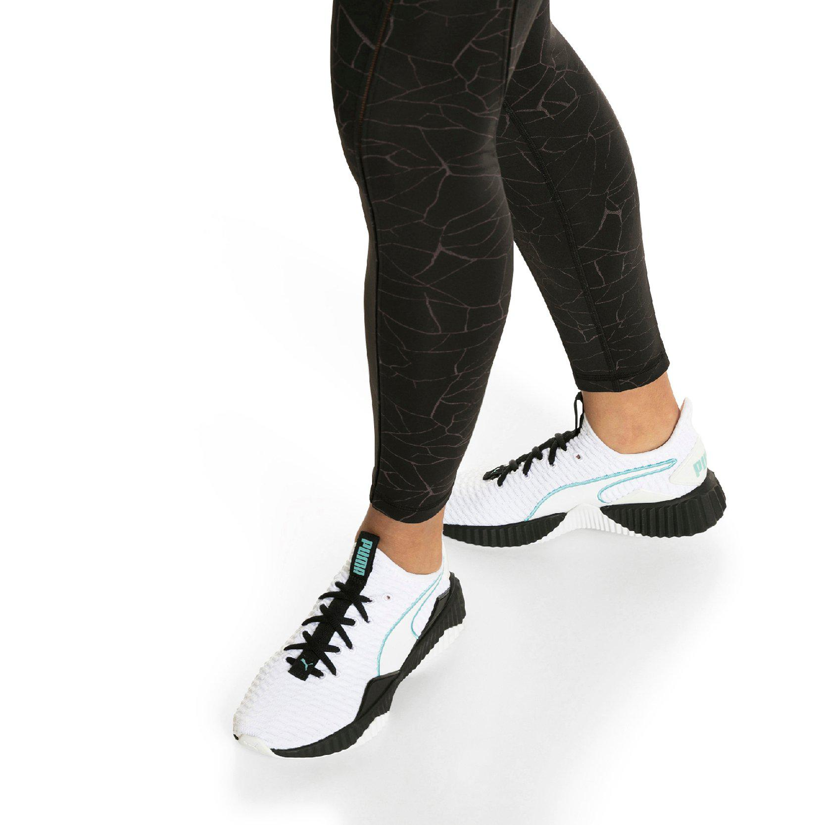 c35c4f300c3 Lyst - PUMA White black Women s Defy Sneakers in White