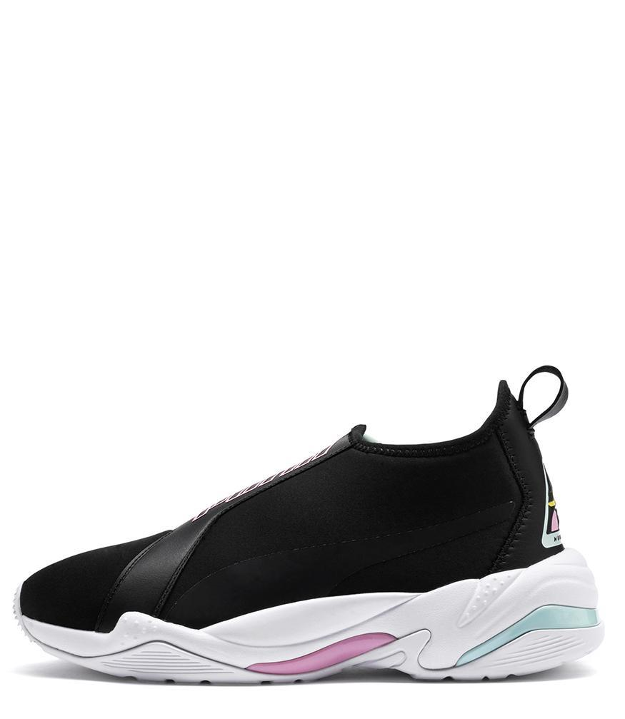 Lyst - PUMA Women s Black Thunder Tz Sneakers in Black 60b7dd65afc