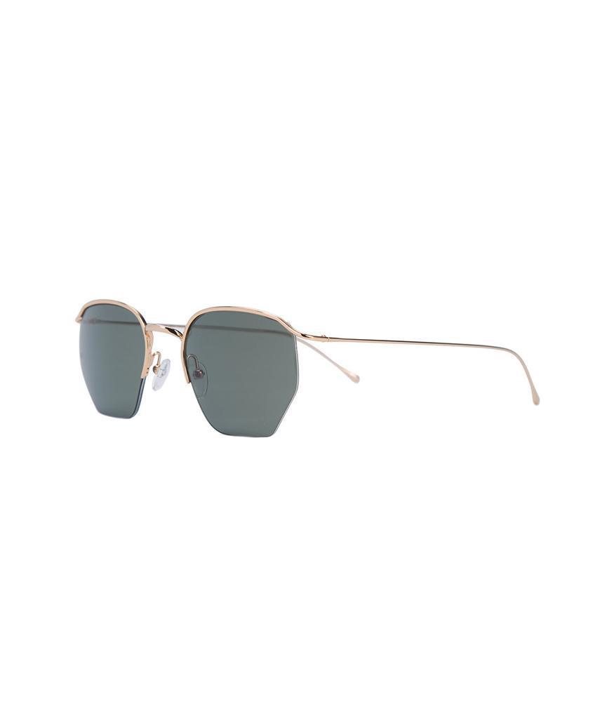 7ac0cb9d71a Smoke X Mirrors - Blue Gold-tone Stainless Steel Geo Sunglasses - Lyst.  View fullscreen