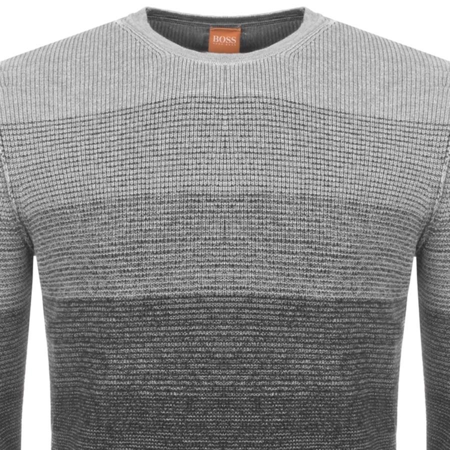 6637ada07 Boss By Hugo Boss Akatrusco Jumper Grey in Gray for Men - Lyst