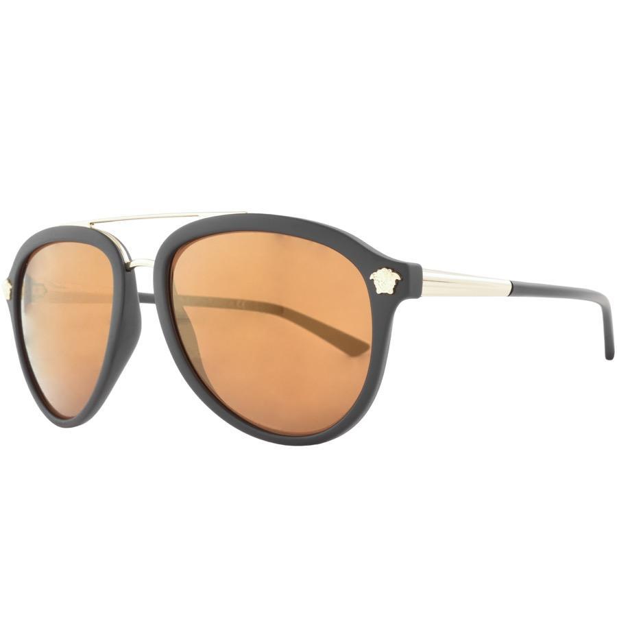2fb12f4d3c Versace Jeans Versace Medusa Luxe Sunglasses Brown in Brown for Men ...