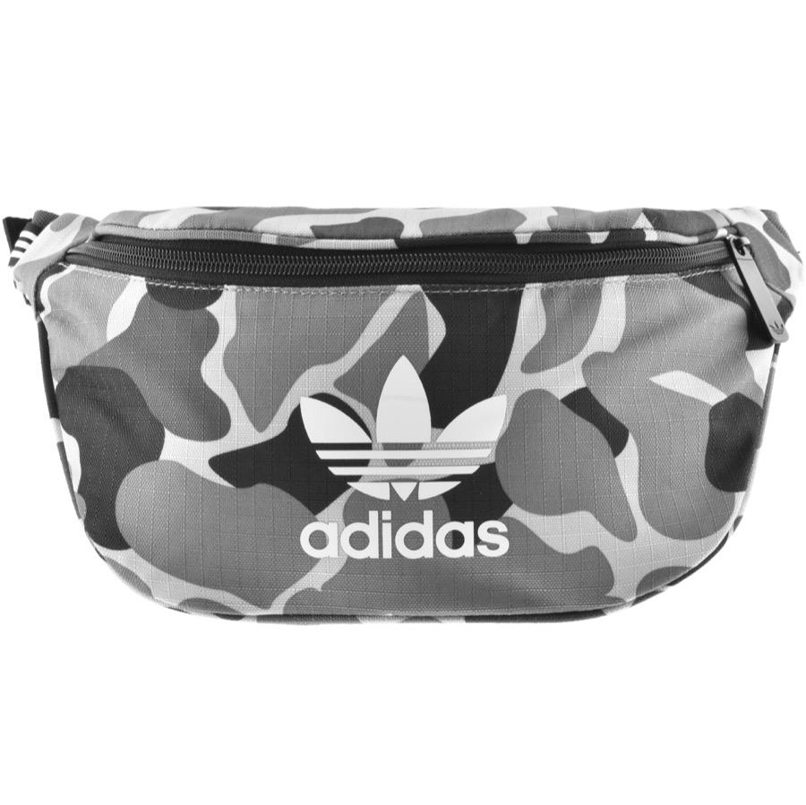 45ab353d348e Lyst - adidas Originals Camouflage Waist Bag Grey in Gray for Men