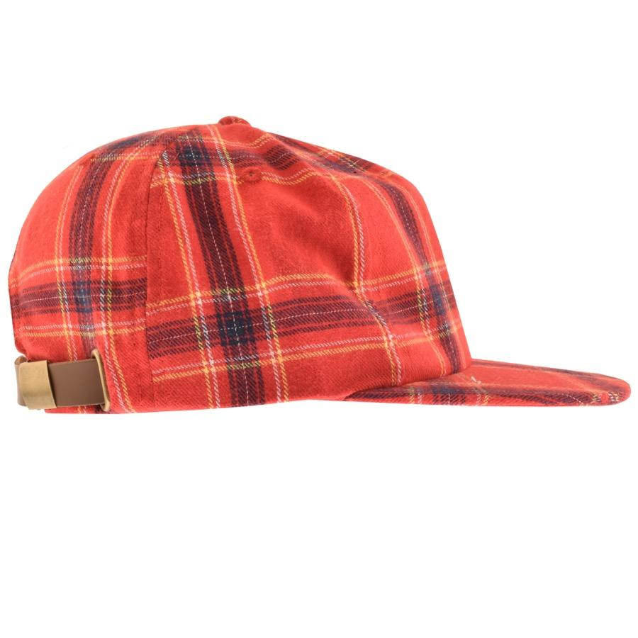 d585f0a9dbe BBCICECREAM Billionaire Boys Club Check Cap Red in Red for Men - Lyst