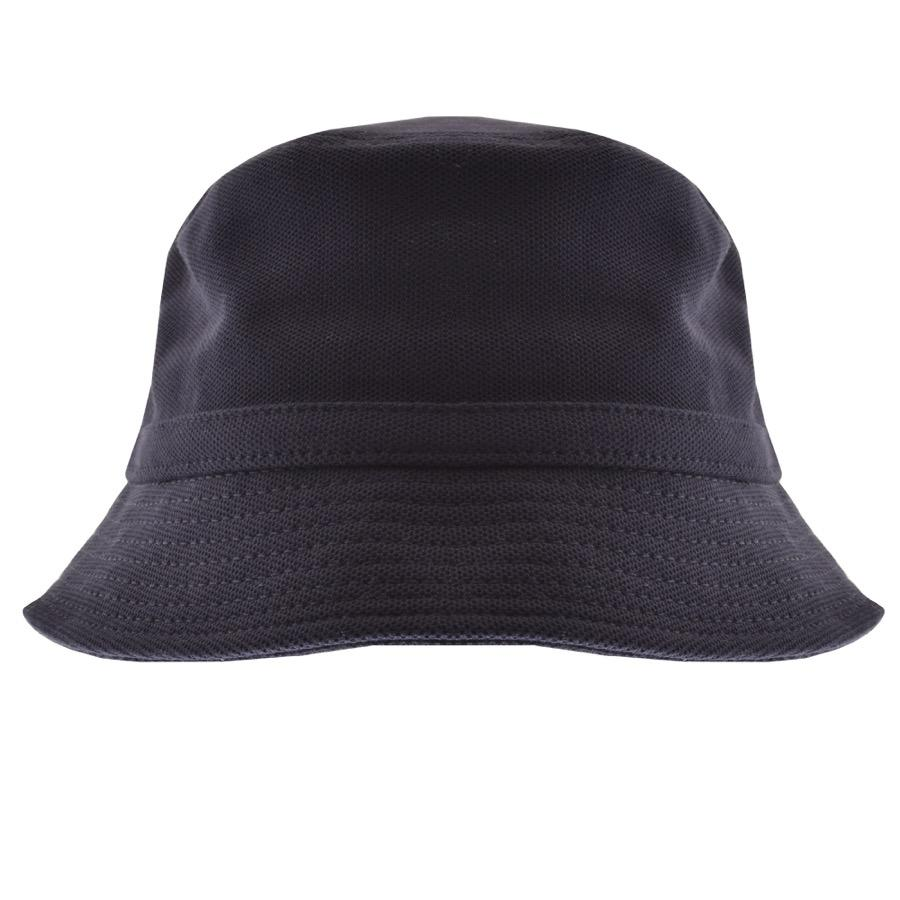 1dc3eb247ca9ce Lacoste Pique Bucket Hat Navy in Blue for Men - Lyst