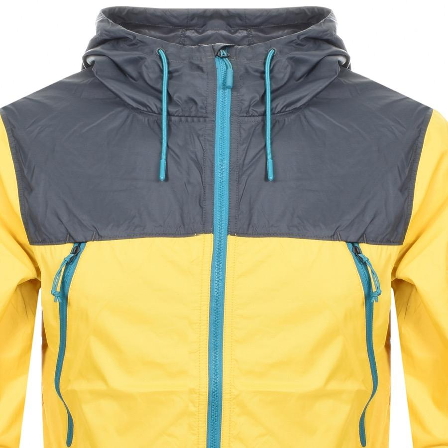 The North Face - Yellow Hooded Jacket for Men - Lyst. View fullscreen 9d41bb944