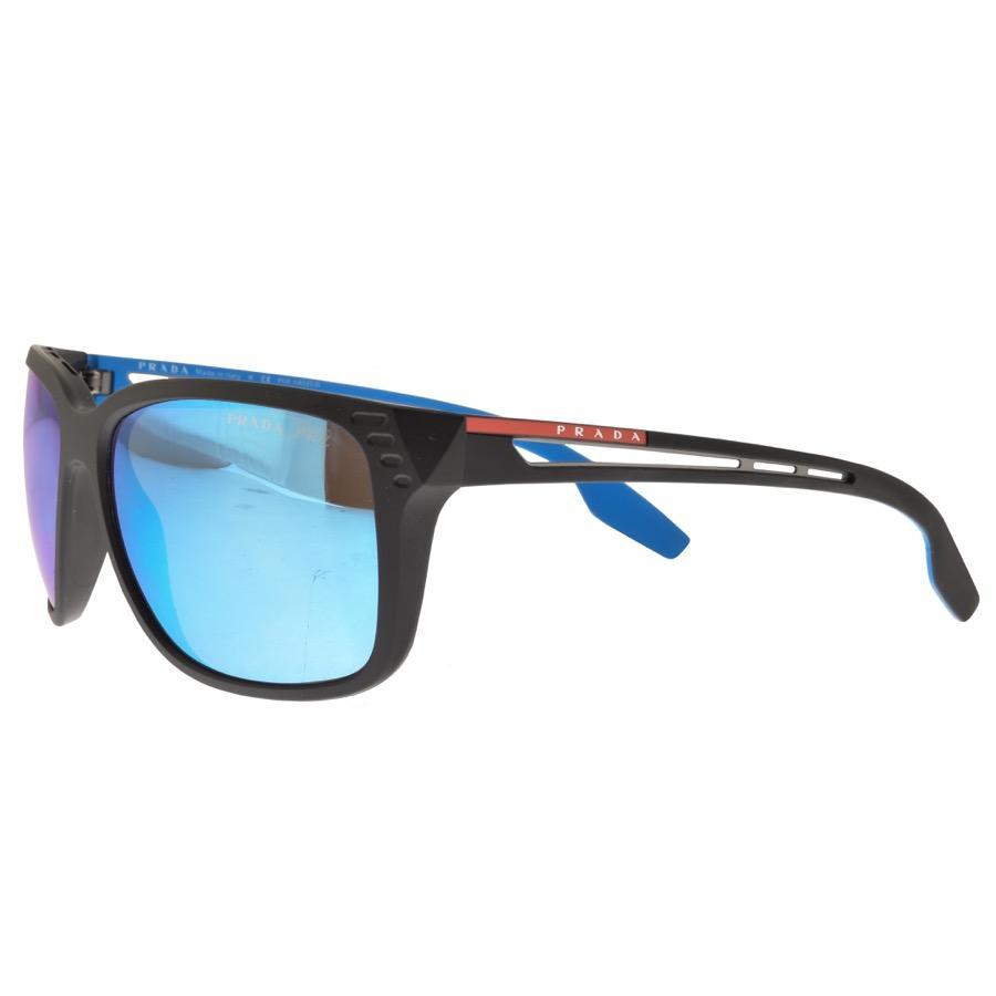 32c45e7175 Prada Linea Rossa 03ts Sunglasses Black in Black for Men - Lyst