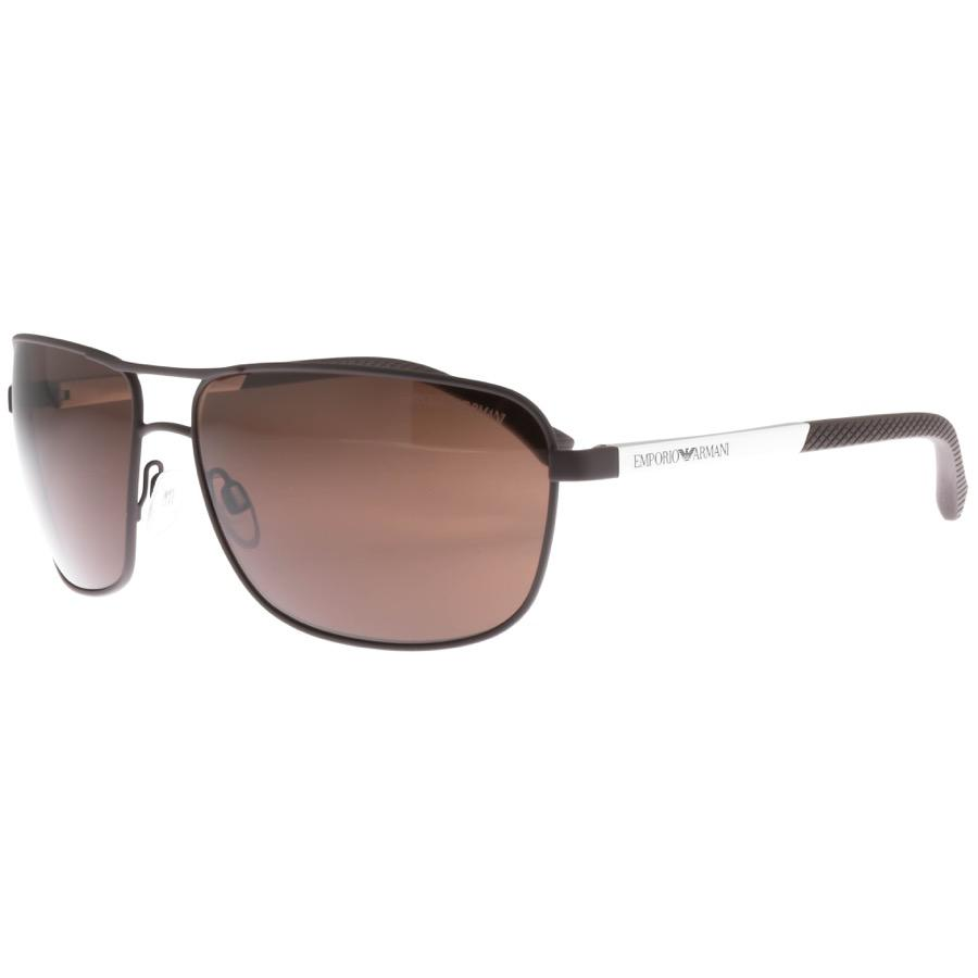 e7069c34dbeb Lyst - Armani Emporio Ea2033 Sunglasses Brown in Brown for Men