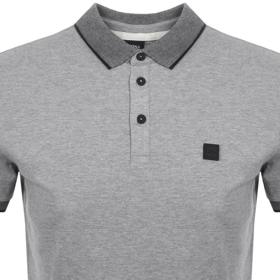 e65c0f85d BOSS by Hugo Boss Boss Orange Porches Polo T Shirt Grey in Gray for ...