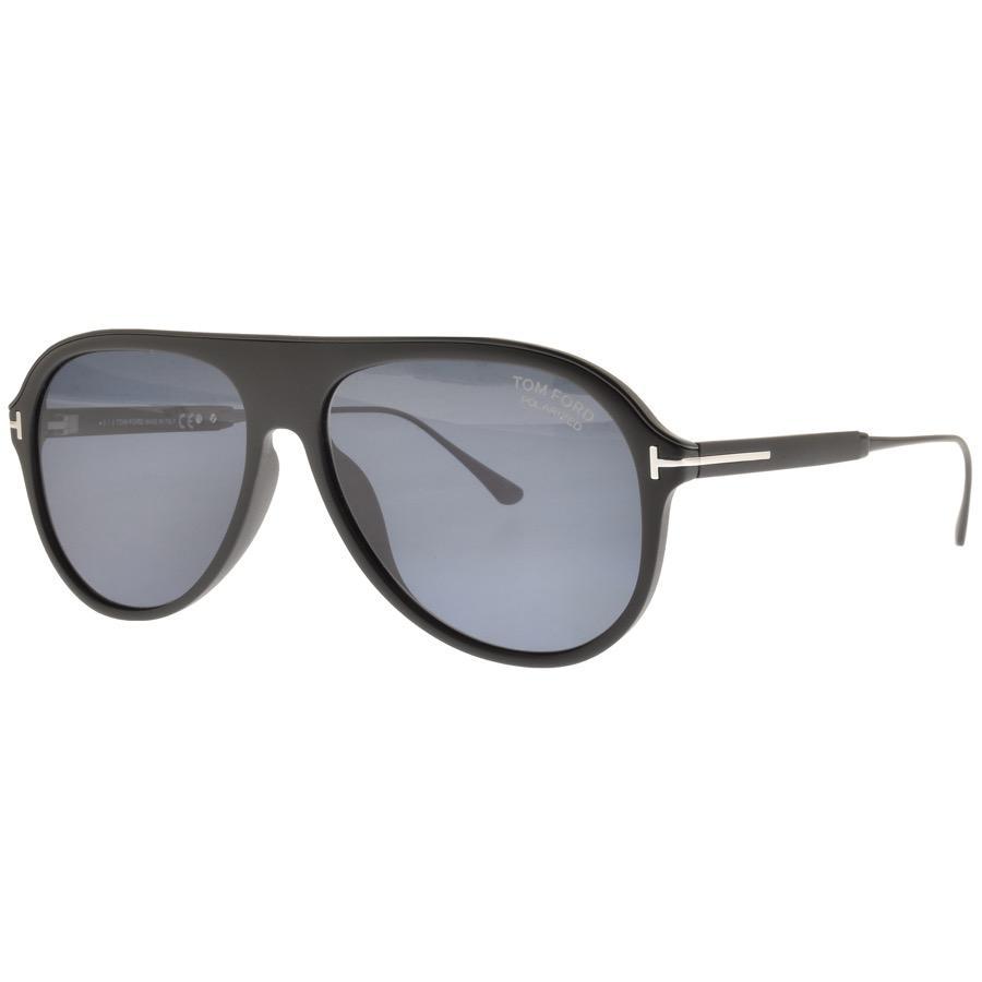 0d9d69fea61 Tom Ford Nicholai Sunglasses Black in Black for Men - Lyst