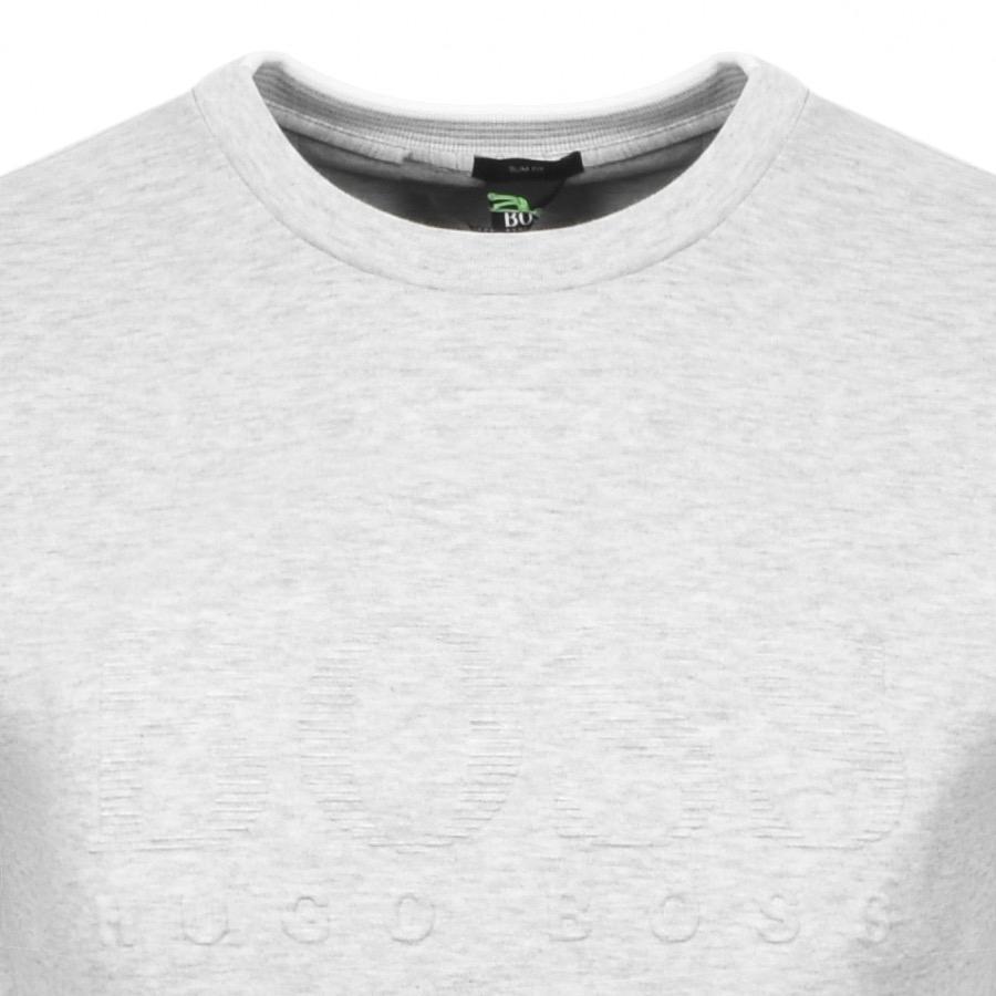 Lyst - BOSS Athleisure Salbo Sweatshirt Grey in Gray for Men 7345ab21efc1