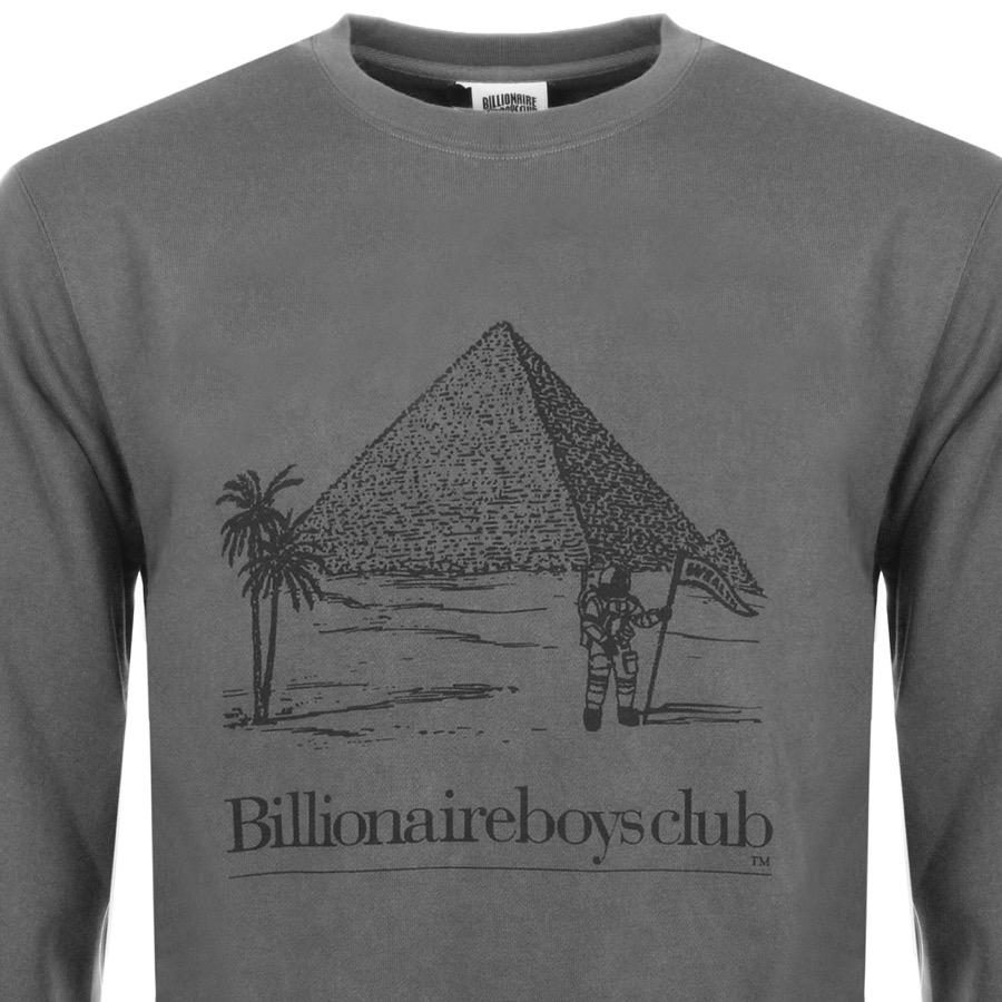 BBCICECREAM Billionaire Boys Club Pyramid Sweatshirt Grey in Gray ... 984a8b9aab3