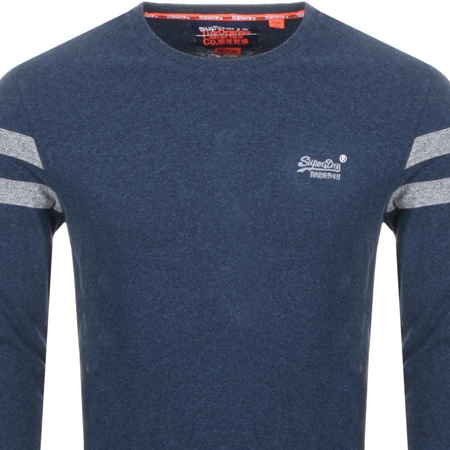 2a798f35 Superdry Vintage Softball Ringer T Shirt Navy in Blue for Men - Lyst