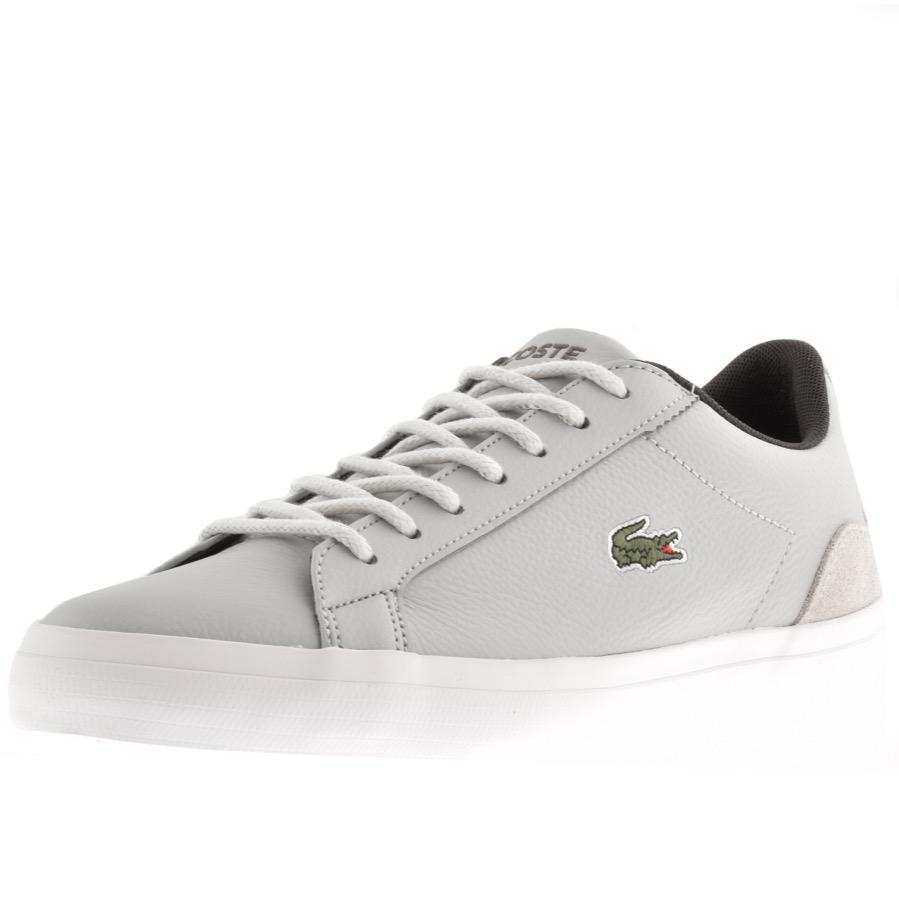f8c99a9ee4afe Lacoste Lerond Trainers Grey in Gray for Men - Lyst
