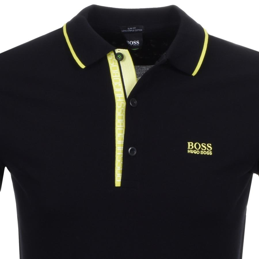 19115f78 Hugo Boss Green Paddy Polo T Shirt Black – EDGE Engineering and ...