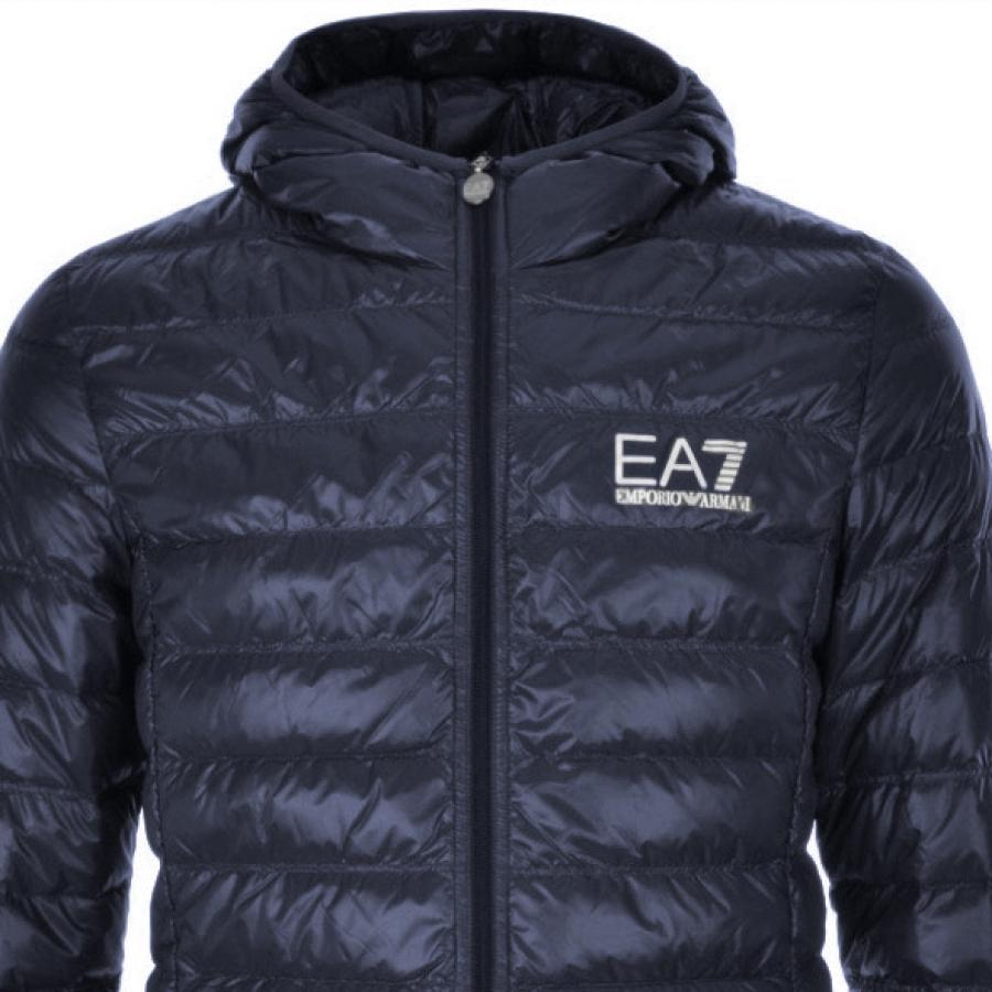 fad8d5b6fc8 Ea7 Quilted Jacket Blue in Blue for Men - Save 50.666666666666664 ...