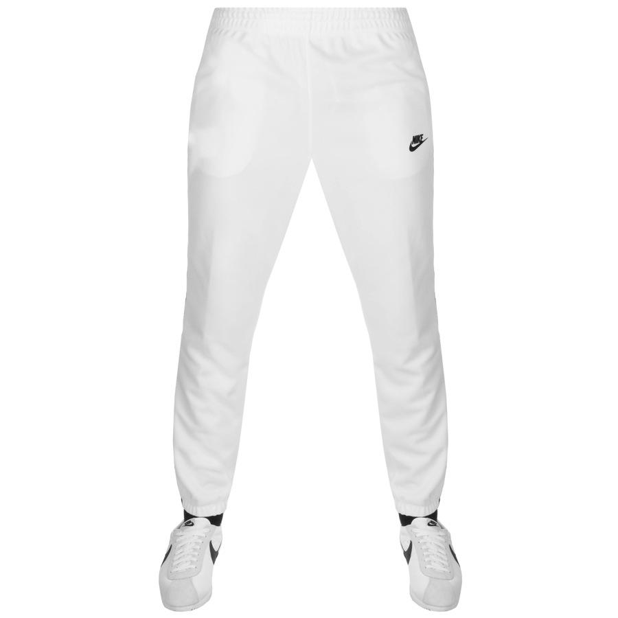 Lyst Nike Tribute Jogging Bottoms White In White For Men