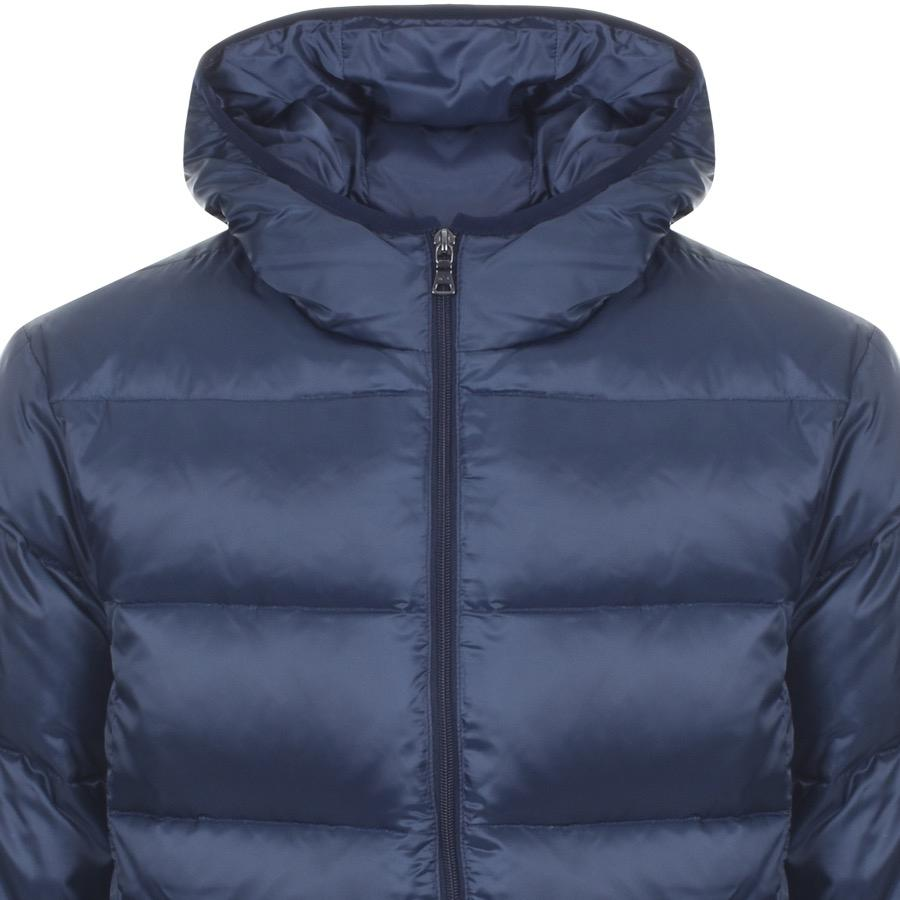 0af32d5883b5 Paul   Shark Paul And Shark Full Zip Quilted Hooded Jacket Navy in ...