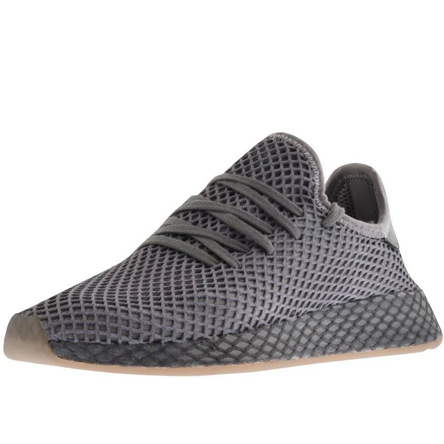 57a039243 adidas Originals Deerupt Runner Trainers Grey in Gray for Men - Lyst