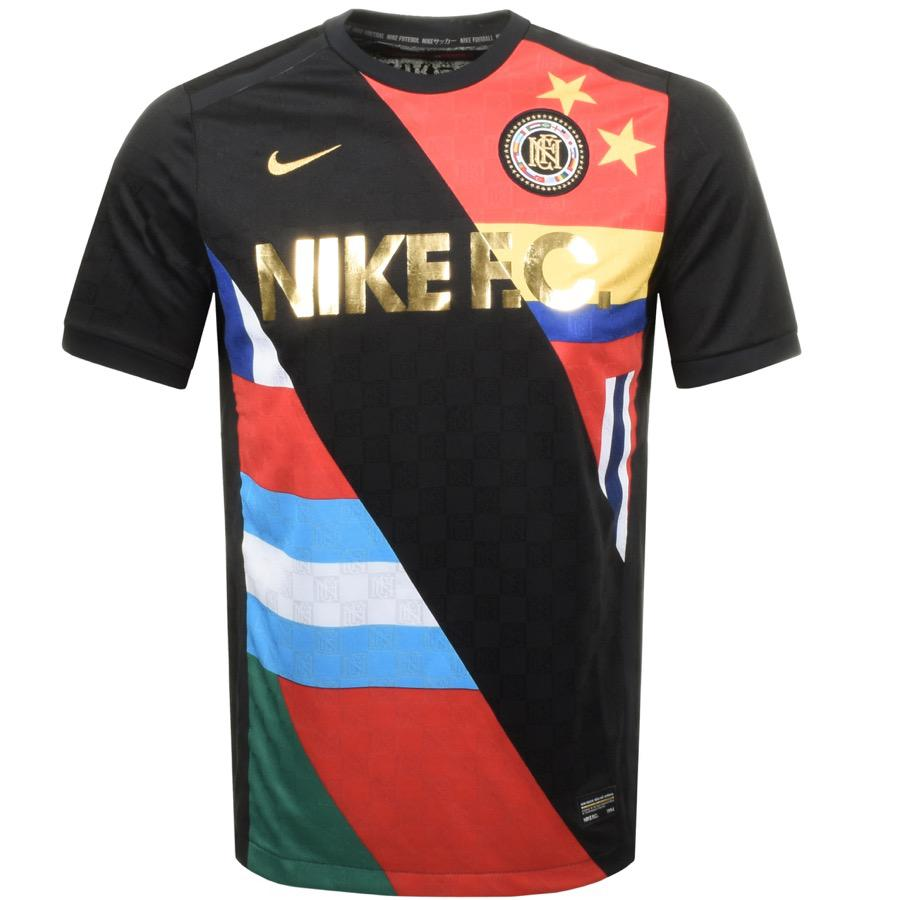 Fc 150 For Sale >> Nike Fc Flag Logo T Shirt Black in Black for Men - Lyst