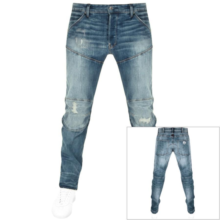 e7c130a09b4 G-Star RAW Raw 5620 Elwood 3d Slim Jeans Blue in Blue for Men - Lyst