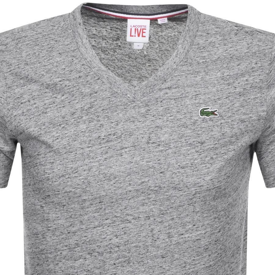 For L In Grey Shirt Lyst T Neck Slim Men ive Ultra Gray Lacoste V PBZ66