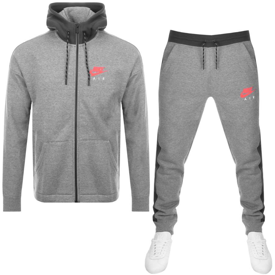 ead2f1a51 Nike Air Tracksuit Grey in Gray for Men - Lyst