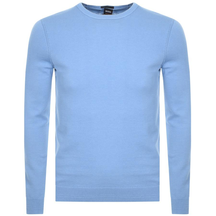 5b04fc7c1 BOSS by Hugo Boss Kwasiros Jumper Blue in Blue for Men - Lyst