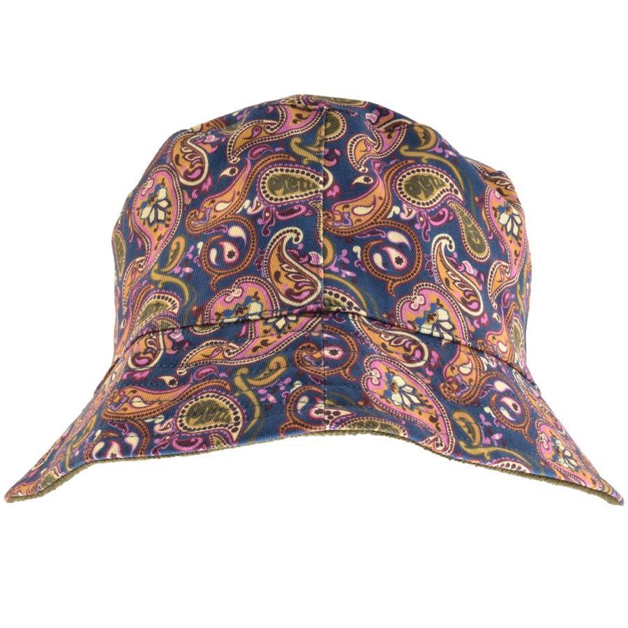 001044f600c Lyst - Pretty Green Reversible Paisley Bucket Hat Khaki for Men