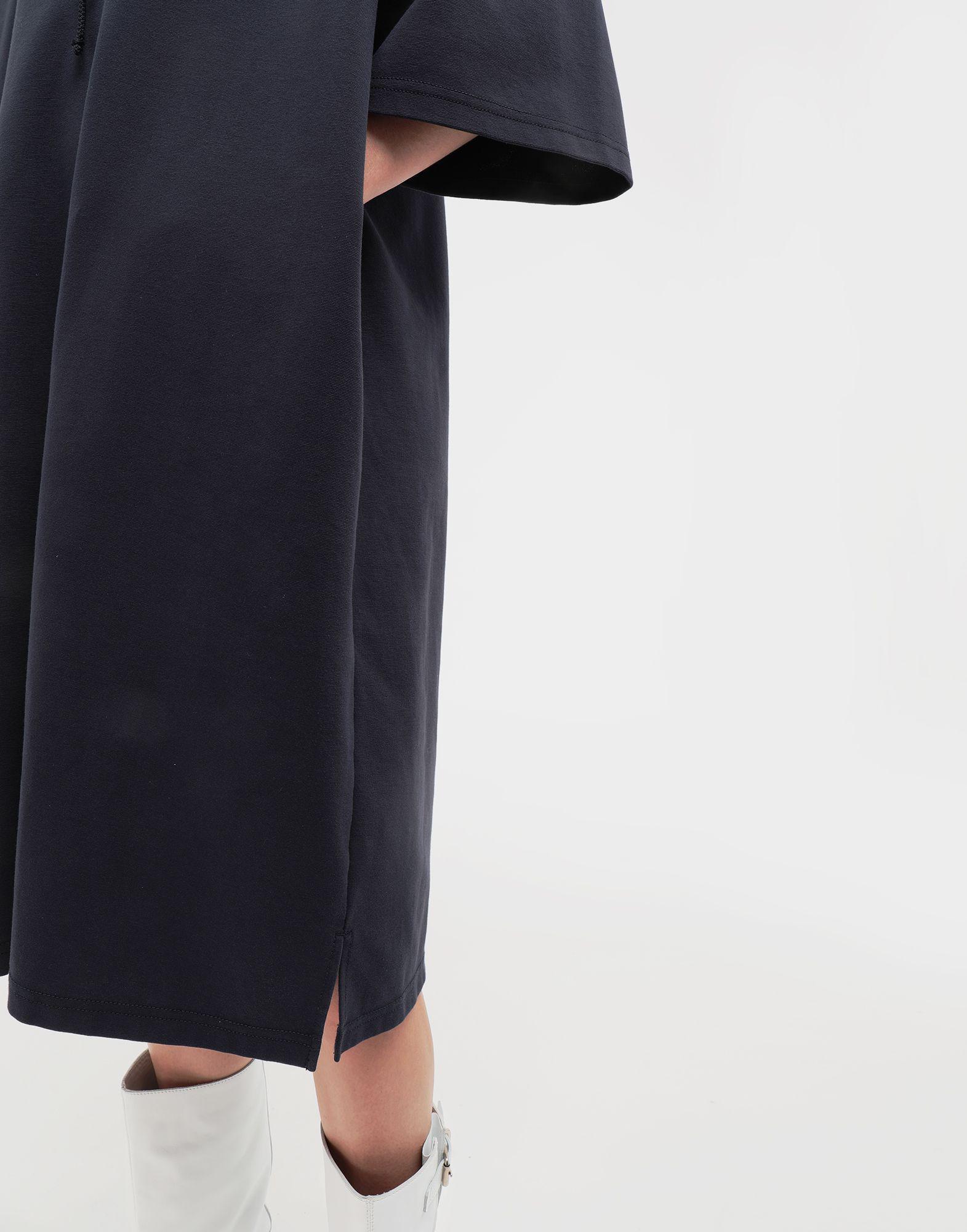 2460f776cc1 MM6 by Maison Martin Margiela Oversized Hooded Dress in Blue - Lyst