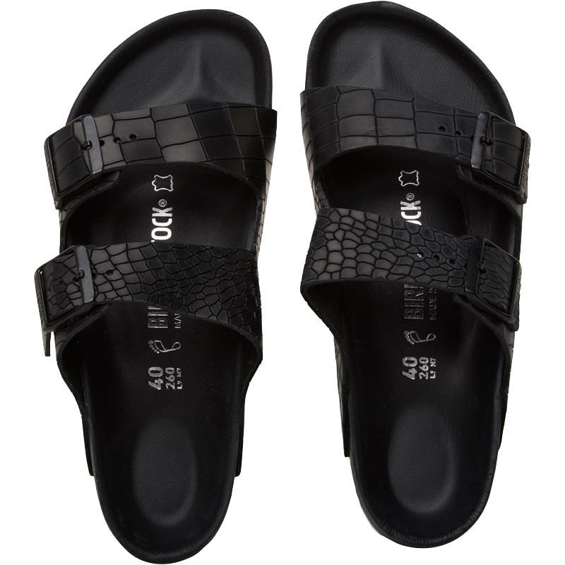 ad25500affa7 Birkenstock - Black Arizona Sandals Schwartz for Men - Lyst. View fullscreen